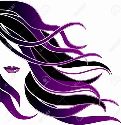 Salon Hair Logos Clipart Icon Hairdresser Vector