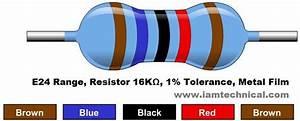 16k U03a9 Resistor Color Code