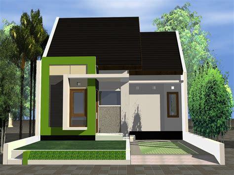 ide desain rumah mungil sederhana minimalis