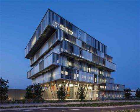 l oreal siege social construction of aquitanis headquarters in bordeaux by