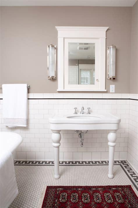 subway tile ideas for bathroom key border tiles transitional bathroom clay