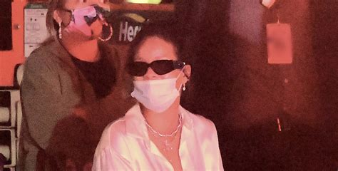 Rihanna Photographed for First Time After Scooter Accident ...