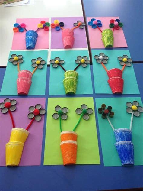 egg carton flower craft crafts  worksheets  preschooltoddler  kindergarten
