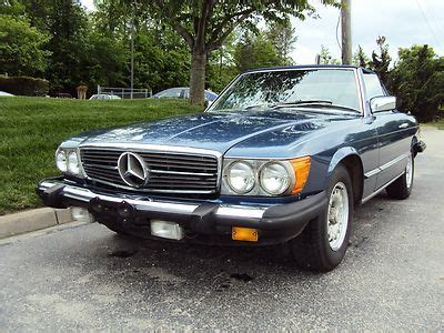 It also features an alpine stereo cd player, power antenna, power windows, factory color matching hardtop, tan soft convertible top, climate. Buy used 1984 MERCEDES 380SL CONVERTIBLE - RUNS/LOOKS/DRIVES GREAT! NO RUST! NICE CAR! in ...