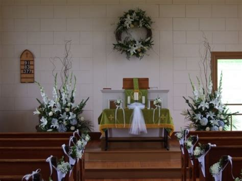 Photo Gallery Country Church Wedding Flowers Photo