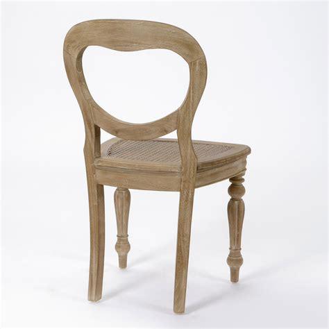 chaises pour salle manger chaise de salle à manger en bois lot de 2 versailles
