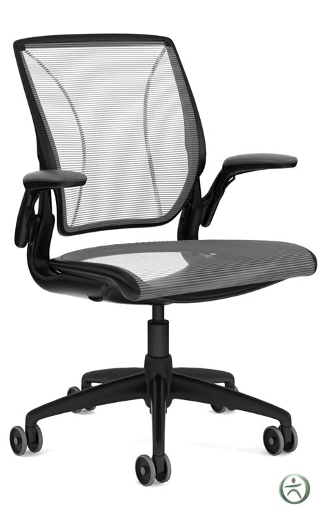 Diffrient World Chair by Humanscale Diffrient World Mesh Task Chair