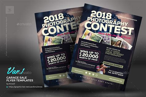 Photo Contest Flyer Template by Photo Contest Flyer Templates By Kinzishots Graphicriver