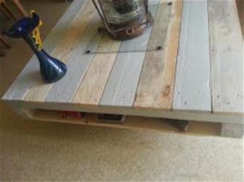 fabriquer sa table de cuisine 1 utiliser une palette en bois en d233co table basse design