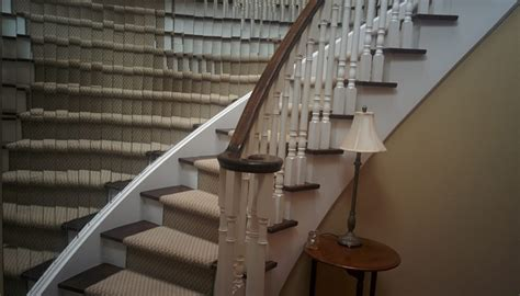 table stairs birthday table stair runner ideas john robinson house decor adding a stair runner ideas to