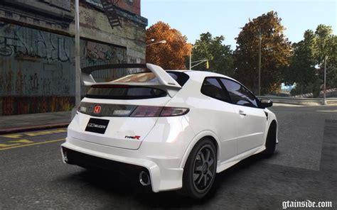 Gta 4 Honda Civic Type-r (fn2) Mod