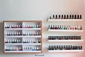 Nagellack Regal Ikea : update meine nagellackregale winzieee ~ Markanthonyermac.com Haus und Dekorationen