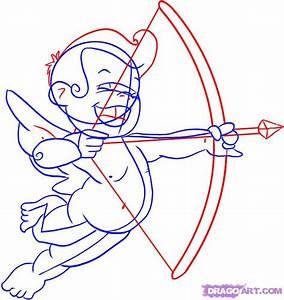 How to Draw Cupid, Step by Step, Valentines, Seasonal ...