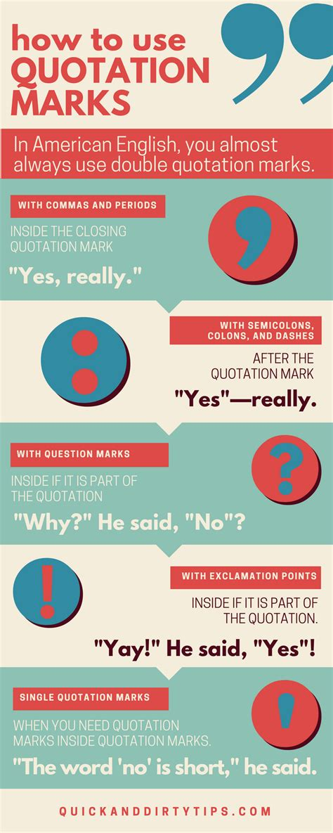 How To Use Quotation Marks 9+ Examples  Grammar Girl
