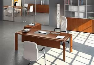 Bureau Moderne Design : bureau direction design bois ambiance moderne bureaux am nagements m diterran e ~ Teatrodelosmanantiales.com Idées de Décoration