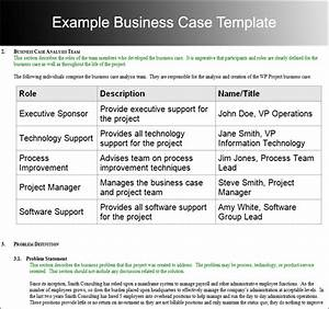 8 business case template free word pdf excel doc formats With writing business cases template