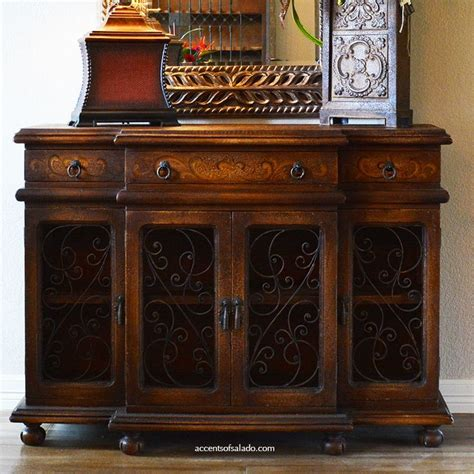 Tuscan Sideboard by Painted Buffet Foyer Chest At Accents Of Salado See
