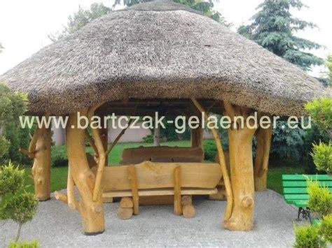 pavillon holz aus polen gartenpavillon mit reetdach gartenpavillon holz reetdach strohdach selber bauen