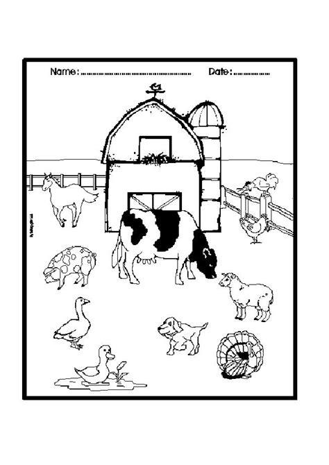 diy farm crafts  activities   farm coloring pages page