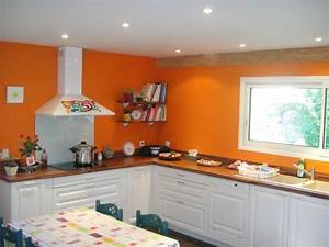 couleur murs cuisine avec meubles blancs excellent With couleur de peinture cuisine