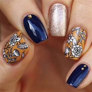 fall nails 12 fabulous nail ideas to try this weekend