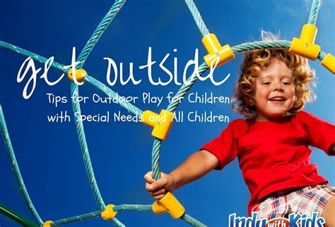 tips  outdoor play  children