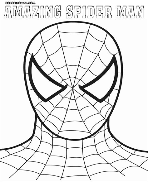 The Amazing Spider Coloring Pages Amazing Spider Amazing Spider Coloring Pages Coloring Pages To