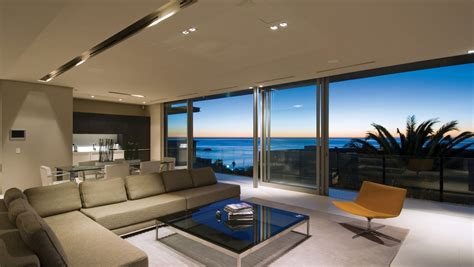 view interior of homes minimalist ocean view home in south africa idesignarch interior design architecture