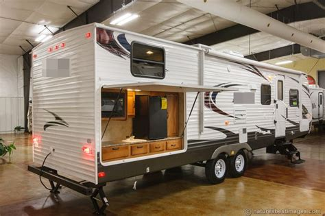 new 2014 30dbss slide out bunkhouse travel trailer outdoor