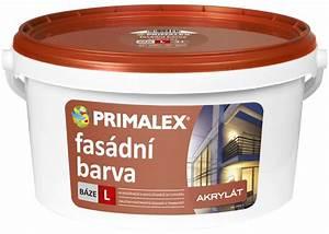 Primalex akrylátová strukturální fasádní barva