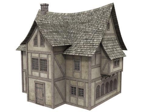 Fantasy House 2  Poser  Sharecg