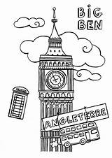 Ben Coloring London Simple Colouring Coloriage Booth Phone Londres Outline Printable Sketches Pan Peter Kingdom United Lh6 Ggpht Sketch Anglais sketch template