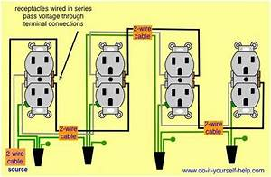 Wiring Diagram Receptacles In Series In 2019