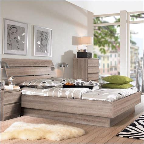 tvilum scottsdale  piece bedroom set  truffle xcj  pkg