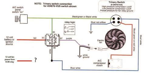 Wiring Sources Engine One Cooling Fan
