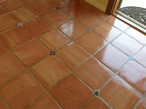 spruce up those saltillo tiles from dull to shine in no time
