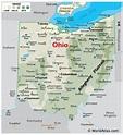 Ohio Maps & Facts - World Atlas