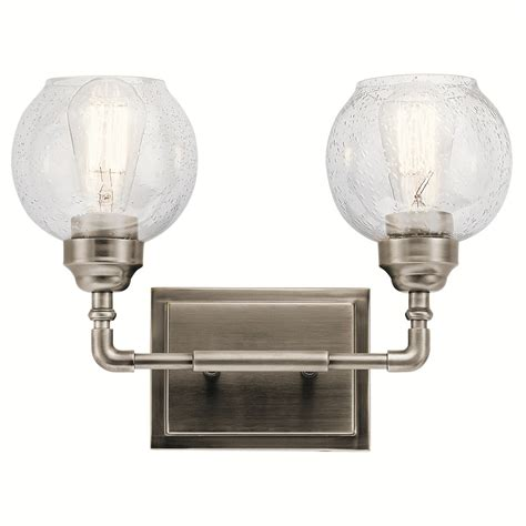 kichler lighting ap niles bathroom vanity light