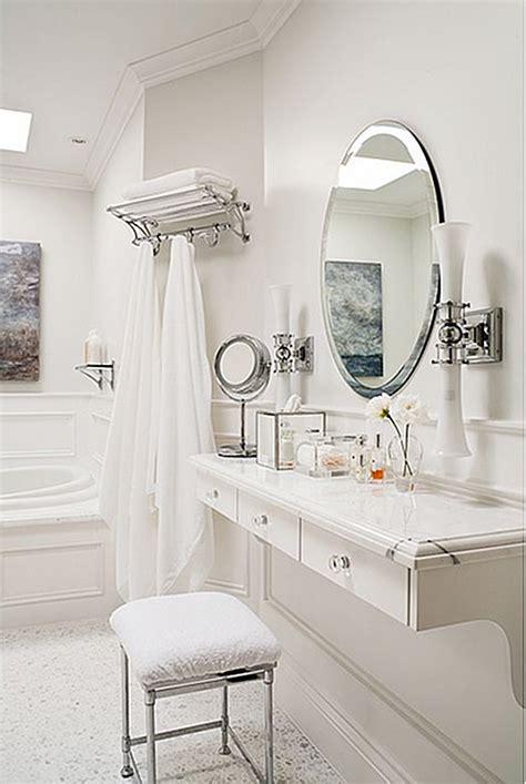 floating makeup vanity 21 innovative bathroom vanities with dressing table