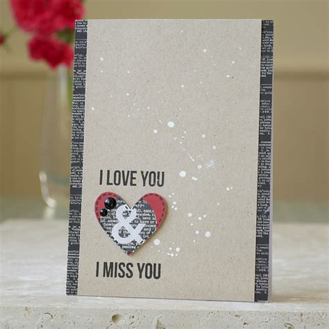 We miss tying their shoes and zipping their coats. Handmade Miss You Card for Him - Folksy