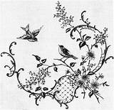Embroidery sketch template