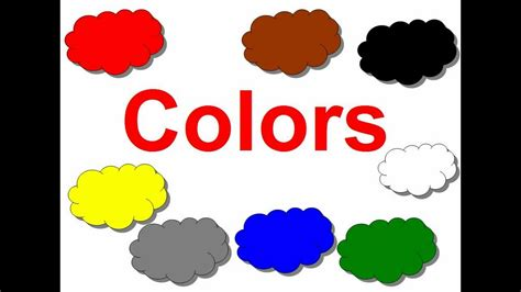 Colors For Kids Youtube