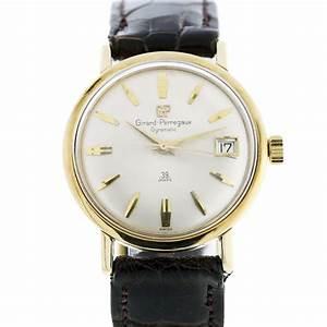 Girard Perregaux Gyromatic 39 Jewels 14k Gold Watch