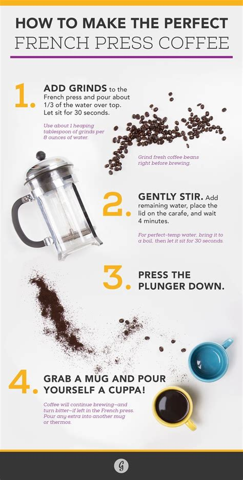 You need to decide how strong you want your coffee to be. How to Make the Perfect French Press Coffee | Coffee tasting, Best french press coffee, Fresh ...