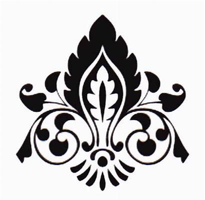 Damask Pattern Stencil Designs Printable Patterns Stencils