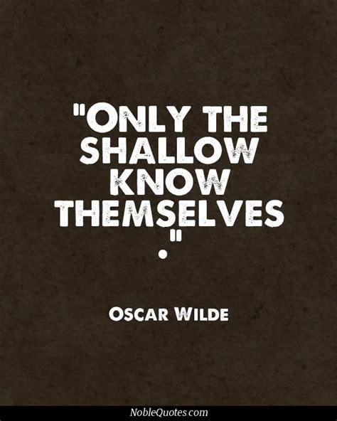 Shallow Quotes Love Quotesgram