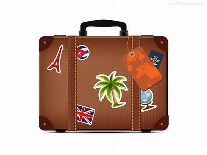 Suitcase Travel Icon Psd Clipart Psdgraphics Graphic
