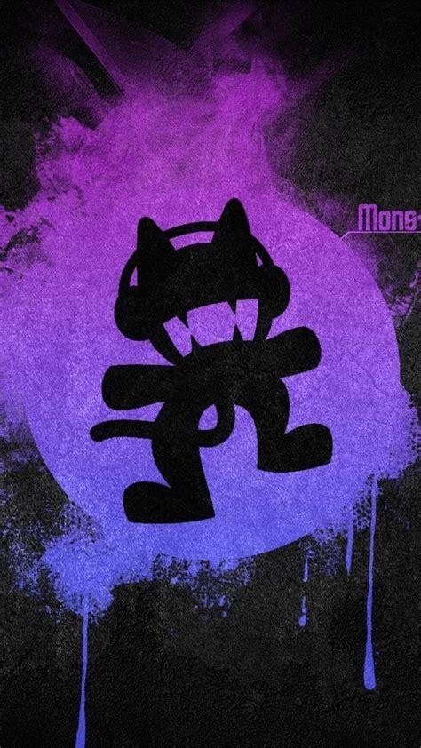 black  violet purple logos simple monstercat