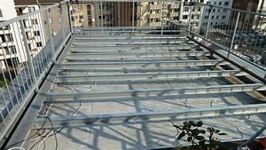 Dachterrasse Auf Flachdach Bauen : roof deck terrassenbau in 3 tagen ~ Frokenaadalensverden.com Haus und Dekorationen