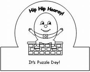 humpty puzzle day crown why not With humpty dumpty puzzle template